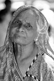 Old woman from Sri Lanka Royalty Free Stock Images