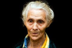 Old women Royalty Free Stock Images
