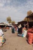 Old women in the bazaar Royalty Free Stock Photo