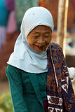 Old women faces Stock Images