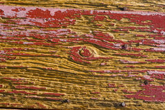Old Wood. Close-up of worn out red barn wood Royalty Free Stock Images
