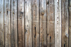 Old wood. Old weathered wooden door detail Stock Image