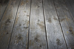 Old Wood Background. An old wood background with a shaft of light shot from a low angle royalty free stock image