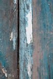 Old wood background. Blue and white painted Stock Photo