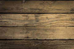 Old Wood Background. Brown Old Vintage Wood Background Royalty Free Stock Photos