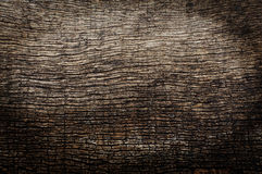 Old wood background with cracks. Old brown wood background with cracks Royalty Free Stock Image