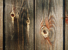 Old wood background. Old wood dark surface background Stock Images