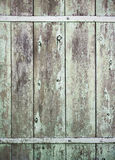 Old wood background door Royalty Free Stock Image