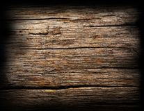 Old wood background. Overhead view of worn out boards. Stock Photo