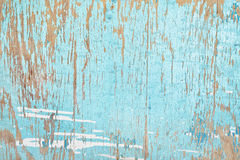 Old wood background with paint peeling down Royalty Free Stock Image