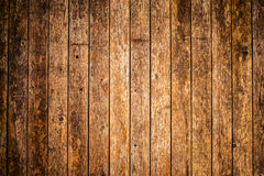 Old wood background in panel layer Royalty Free Stock Photos