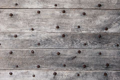 Old wood. Background. Old textured wood background with rusty nails Royalty Free Stock Photo