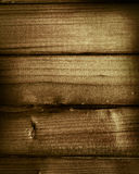 Old wood background to design Royalty Free Stock Photos