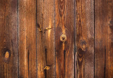 Old wood background. Old background of vertical natural tinted wood planks Royalty Free Stock Photo