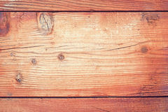 Old Wood Background - Vintage Pink and Vignette Royalty Free Stock Photo