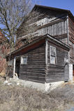 Old wood barn stock images