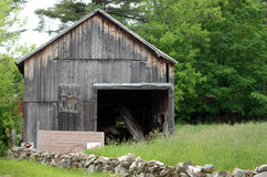 Old Wood Barn Royalty Free Stock Image