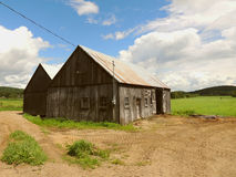 Old Wood Barn Royalty Free Stock Photography