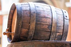 Old wood barrel Royalty Free Stock Image