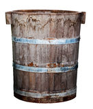 Old Wood Bin Royalty Free Stock Photography