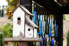 Old Wood Birdhouses Stock Photography