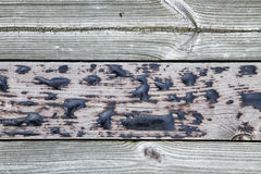 Old wood board in macro. For background Royalty Free Stock Photo
