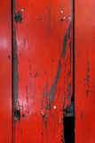 Old wood board painted red Stock Photos