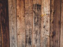 Old wood board with some mold spots. Old rustic wood with mold or fungal on top background texture stock image