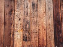 Old wood board with some mold spots. Old rustic wood with mold or fungal on top background texture stock photo