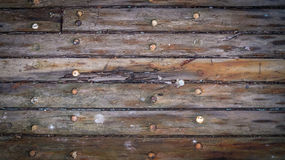 old wood boards on the deck stock image