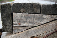 Old wood boards Stock Photography
