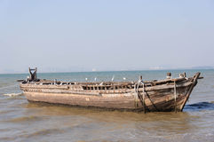 Old Wood Boat Royalty Free Stock Images