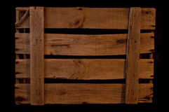 Old Wood Box Stock Photography