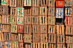 Old wood boxes Royalty Free Stock Photo