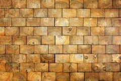 Old wood bricks background Stock Image
