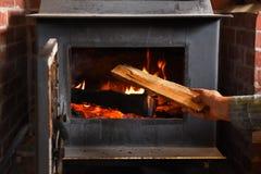 Free Old Wood Burning Stove Stock Image - 160323481