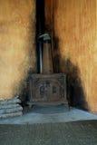 Old wood burning stove Royalty Free Stock Photography