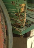 Old wood carriage Royalty Free Stock Photos