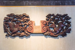 Free Old Wood Carving Royalty Free Stock Images - 71389019