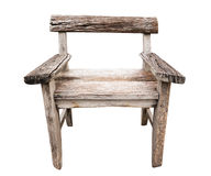 Old wood chair Royalty Free Stock Images