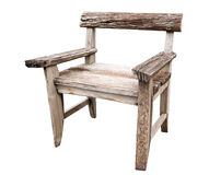 Old wood chair Stock Images