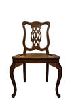 Old Wood Chair Stock Image