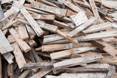 Old Wood Chips Background Stock Photo