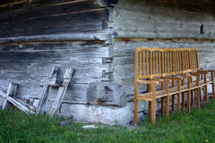 Old Wood Church Royalty Free Stock Images