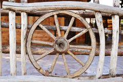Old wood coach Royalty Free Stock Photos