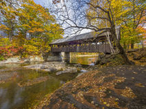 Free Old Wood Covered Bridge Royalty Free Stock Images - 62245199