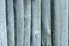 Old wood covered wall Stock Image