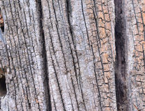 Old wood. Cracked texture a backgrop Stock Photo