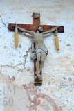 Old wood crucifix Royalty Free Stock Photography