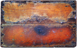 Old wood with damage on texture Stock Photos